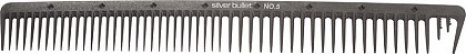Silver Bullet Carbon Extra Wide Teeth Comb